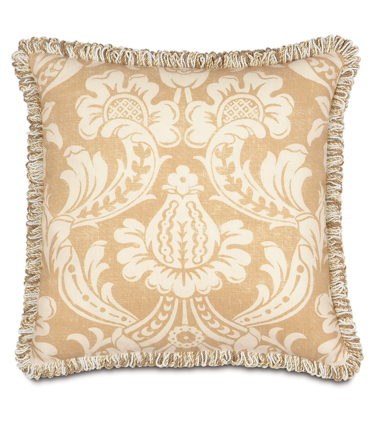 Decorative Throw Pillows With Fringe : Fringed Pillow Pillow Lovers Pinterest