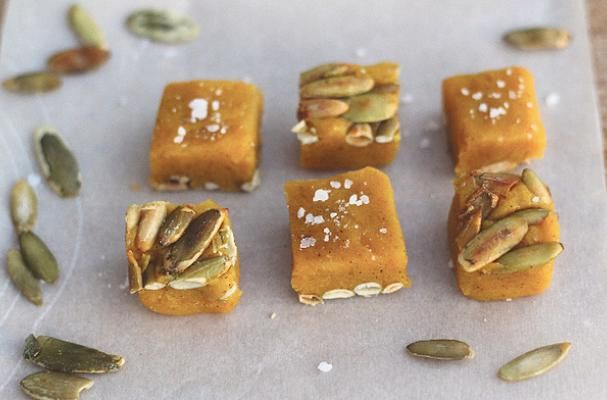 Holiday Candy Recipe: Salted Pumpkin Caramels