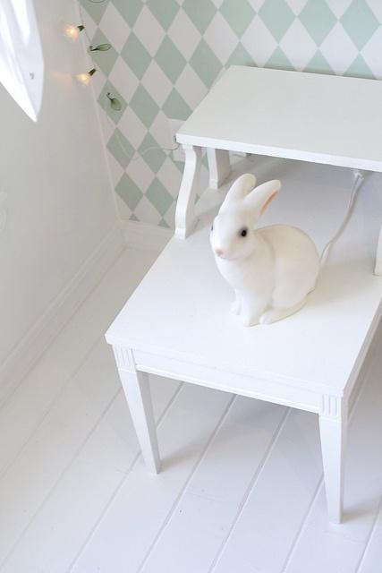 Nursery wallpaper rabbit : Bunny rabbit nursery lights