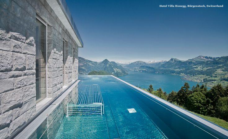 Burgenstock Switzerland  city pictures gallery : Hotel Villa Honegg, Burgenstock, Switzerland | THE WORLD'S BEST POOLS ...