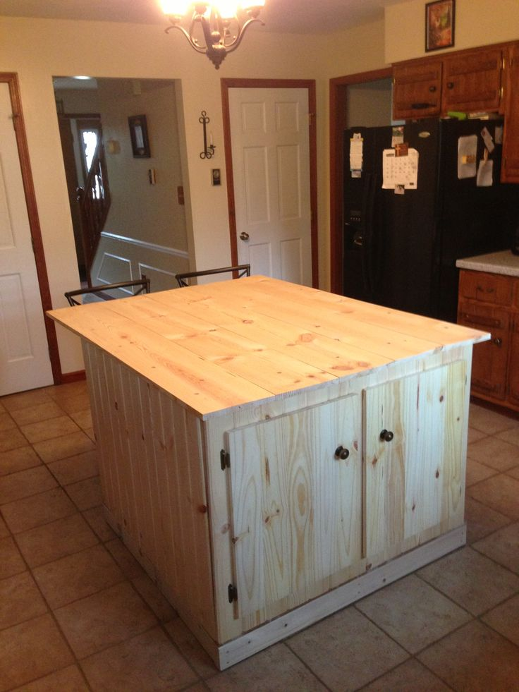 pin by tim everson on kitchen islands pinterest building kitchen island with wall cabinets 187 woodworktips