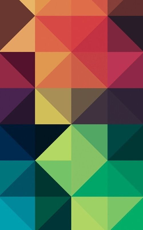 Iphone Wallpaper Geometric  Green Poison