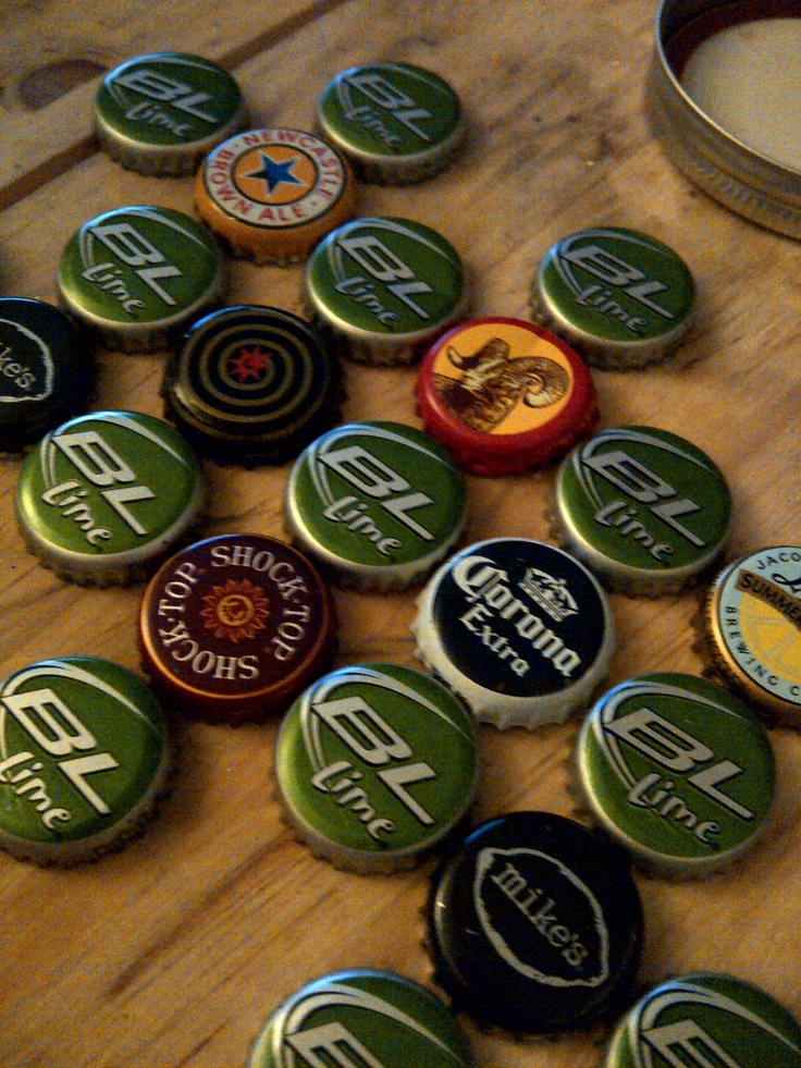 Pin by sadie mason on pretty things pinterest for How to make things with bottle caps