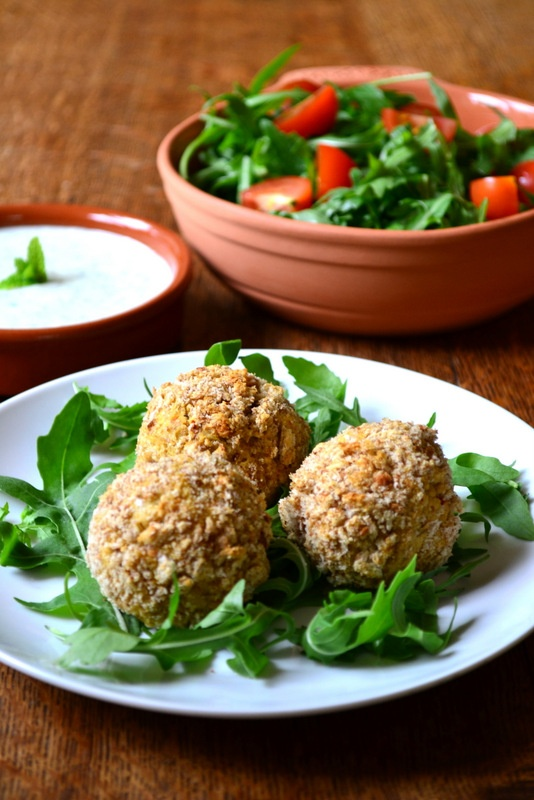 Spicy baked falafel | eats, treats, & sweets | Pinterest
