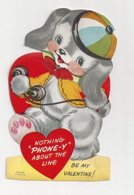 Mechanical Ameri-card Dog Valentine