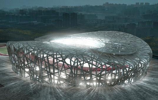 The bird s nest olympic stadium beijing amazing for The bird s nest stadium