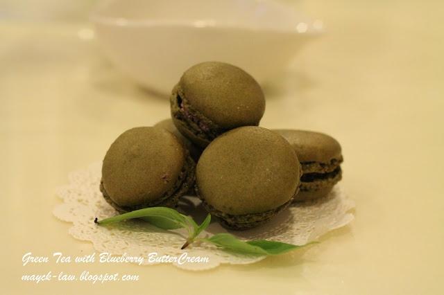 Green Tea Macarons | Treats | Pinterest