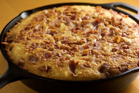"Peter Reinhart's Fresh Cut Corn Bread with Bacon, from ""The Bread ..."
