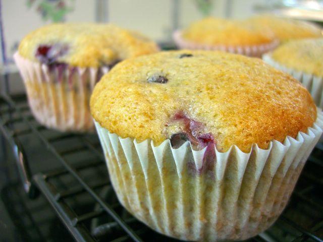 Very Blueberry Muffins « Baking Bites | muffins | Pinterest