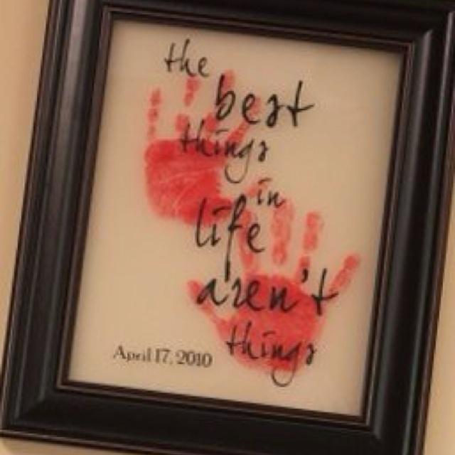 Handprint Quotes For Grandma Quotesgram