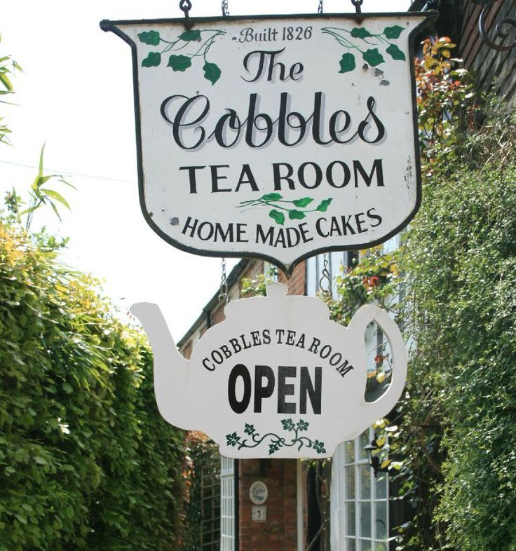 The Cobbles Tea Room in Rye, England is listed in guides and known for its afternoon tea, cream teas with scones, and their famous carrot cake.