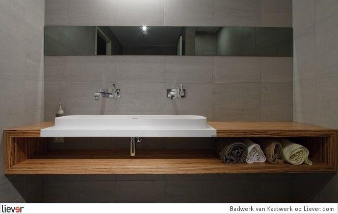 Badkamermeubel dubbele lavabo badkamer ontwerp idee n voor uw huis samen met - Lavabos ontwerp ...