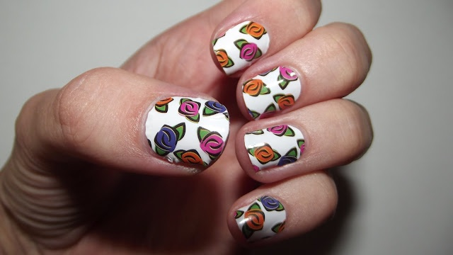 Perfectly Polished: Models Own WAH Nails Instant Nail Art Wraps