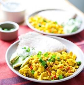 Southwestern Tofu Scramble | Wholesome Foods | Pinterest