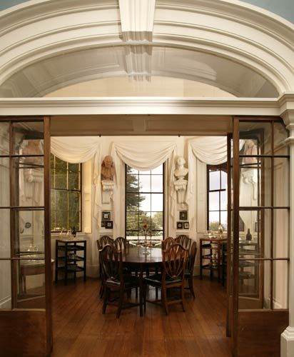 Monticello colonial times pinterest for Dining room 209 main monticello