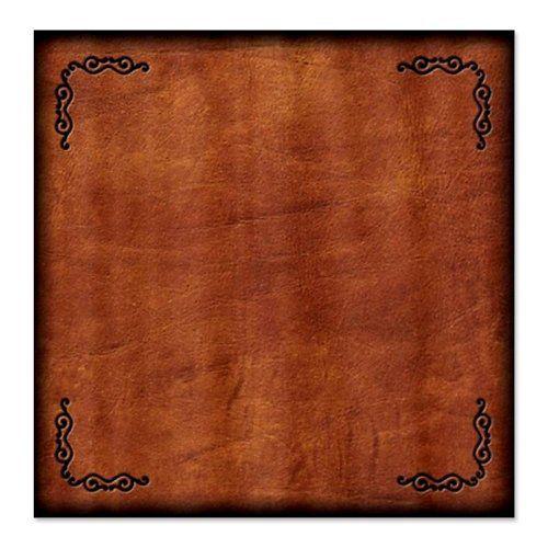 CafePress Leather Western Shower Curtain - Standard White CafePress ...