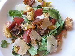Summer of Salads: Heirloom Tomato Panzanella
