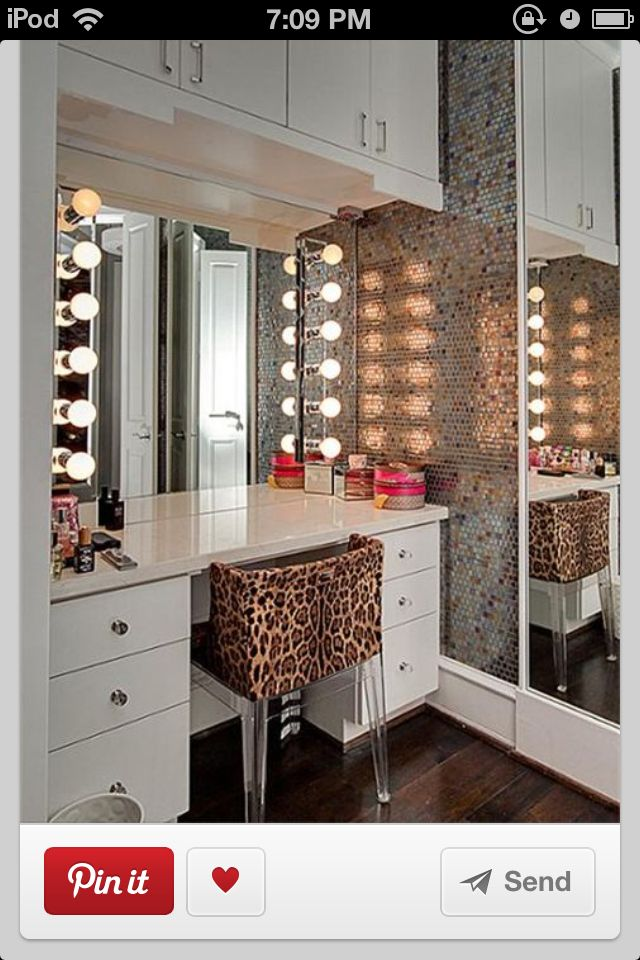 makeup room ideas for the home pinterest