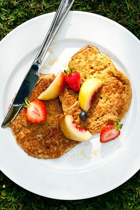 ... make a weekday morning feel like Sunday morning: applesauce pancakes