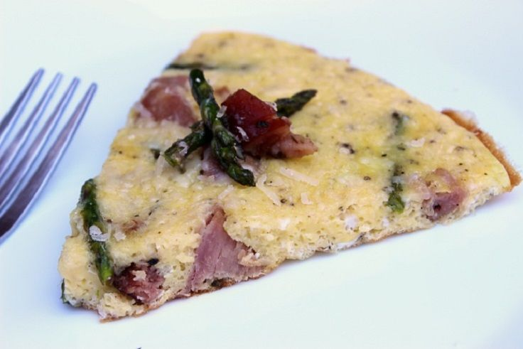 ... ham oven frittata recipes dishmaps asparagus and ham oven frittata