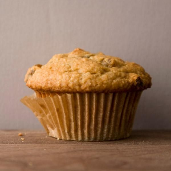 Golden Raisin Oat Bran Muffins | KitchenDaily.com try with canberries