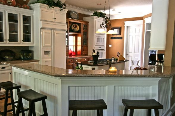 Beadboard kitchen remodel ideas pinterest for Southern kitchen design