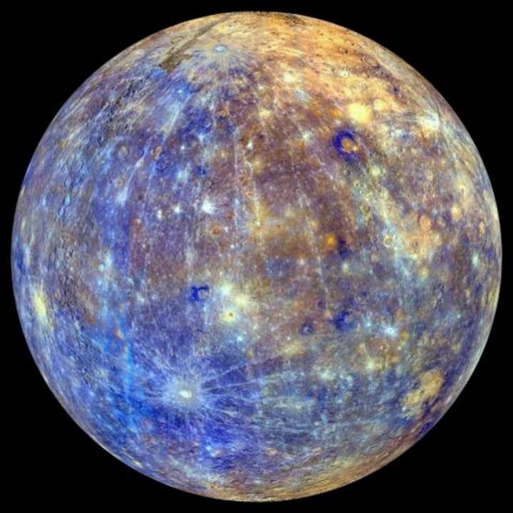graphs of the planet mercury - photo #34