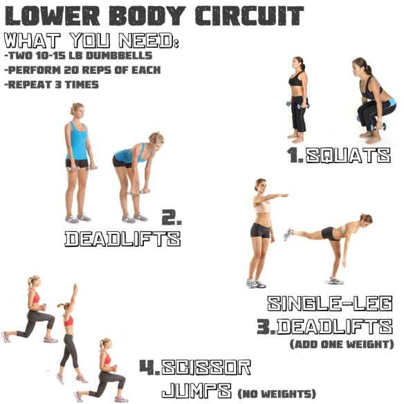 lower body circuit | Exercise | Pinterest
