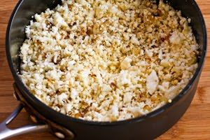 "... Kitchen®: Recipe for ""Cauliflower Rice"" with Fried Onions and S..."