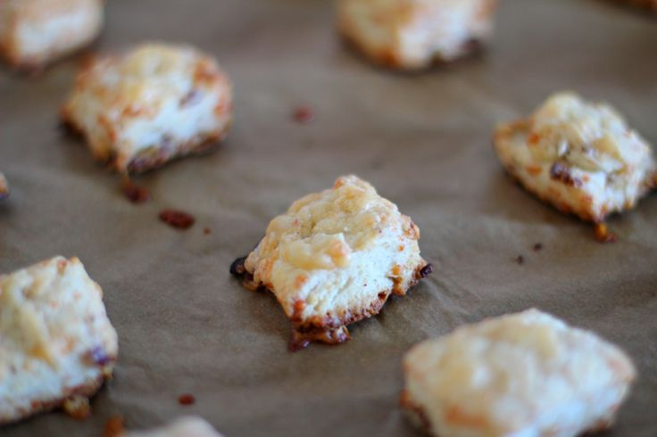 ... bite size bacon and cheese scones recipes dishmaps bacon cheese scones