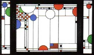 IL   1912 by Frank Lloyd Wright  The Art Institute of ChicagoFrank Lloyd Wright Stained Glass Circles