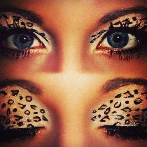 A Super-Easy Leopard Eye Makeup for Halloween Video