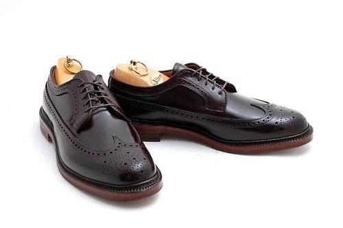Alden X Leffot Longwing Classic men's dress shoes