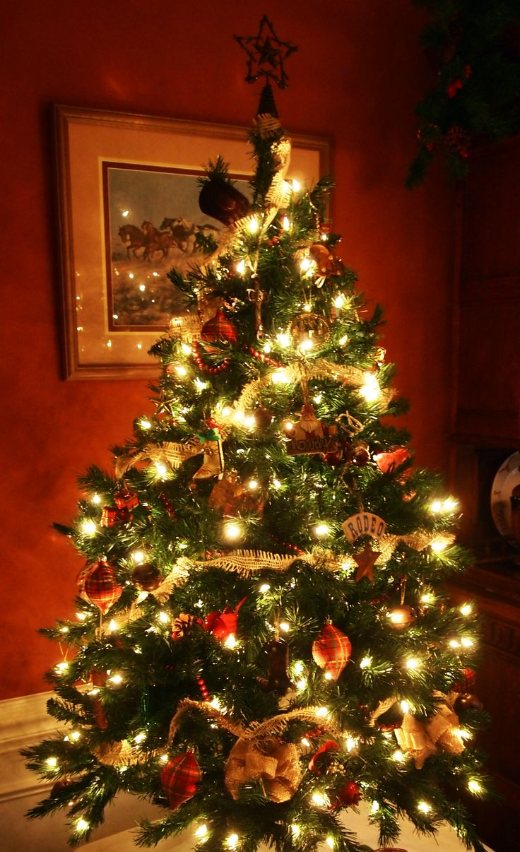 Ordinary Western Decorated Christmas Trees Part - 7: Pin By Elizabeth Doss On Saddle Up Pinterest. SaveEnlarge · 8 Beautifully  Unusual Christmas Tree Topper Ideas