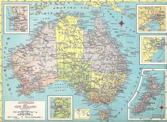wall maps australian australia large unlaminated