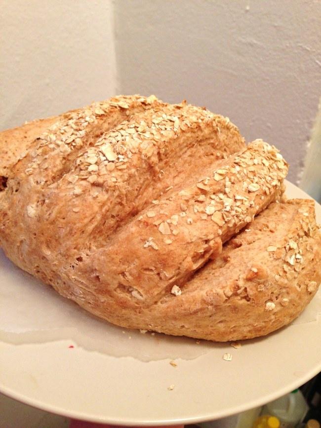 Oatmeal Buttermilk Bread, so moist and sweet!