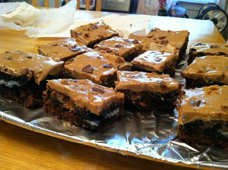 Slutty brownies | Desserts | Pinterest