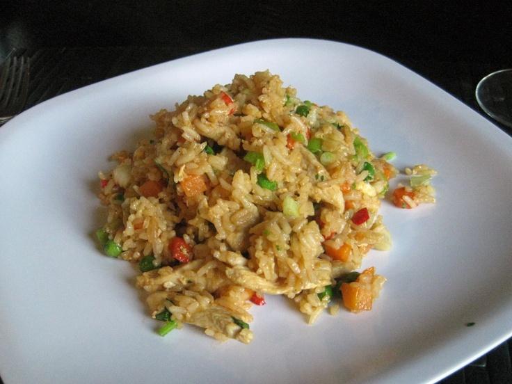 Thai-Style Chicken Fried Rice | Chinese | Pinterest