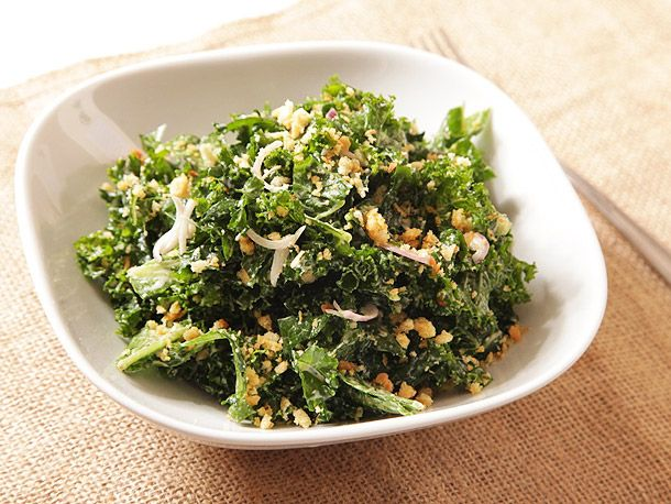 kale-caesar-salad | Healthy treats | Pinterest