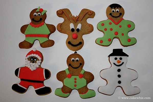 Cake Whiz | Cookies gingerbread ideas | Christmas Cookies | Pinterest