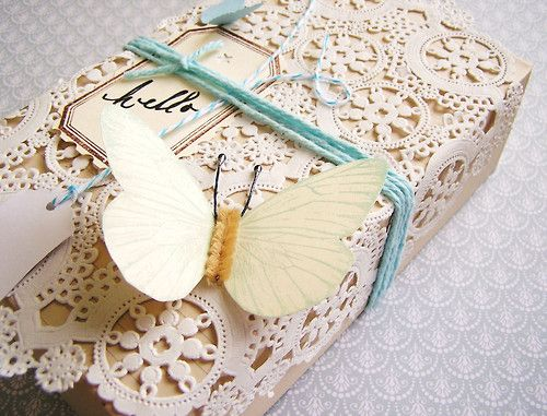 That lace paper... swoon