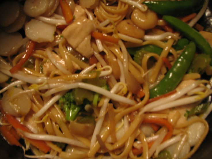 Chicken Lo Mein | Chinese dishes | Pinterest