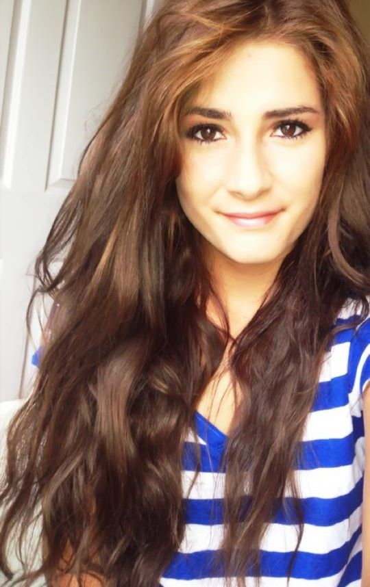 Pretty Tumblr Girls With Wavy Brown Hair Long brown wavy hairPretty Girl With Wavy Brown Hair