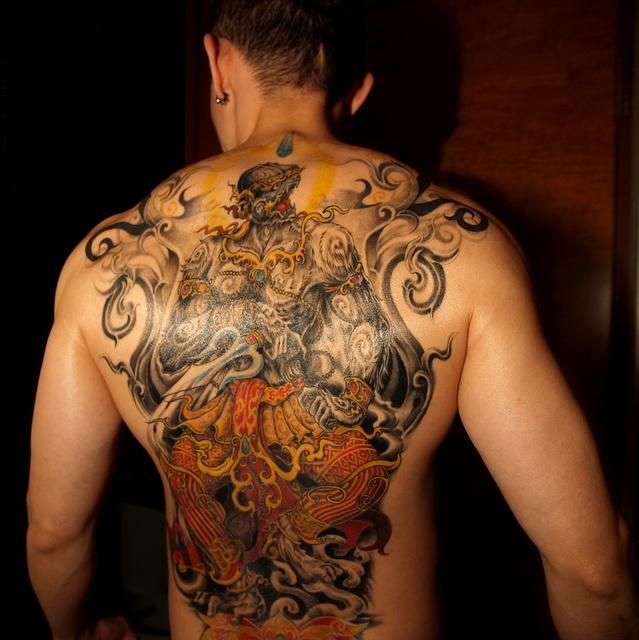 Hanuman Tattoo
