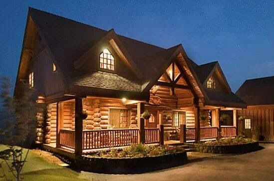 Amazing Log Cabin Not Needed But Would Love
