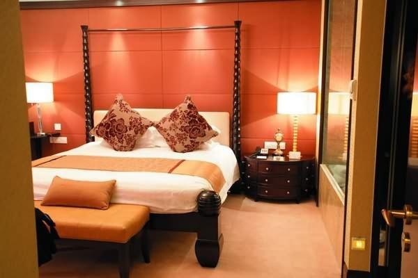 Luxury living room and bedroom corner with swarovski crystals luxury