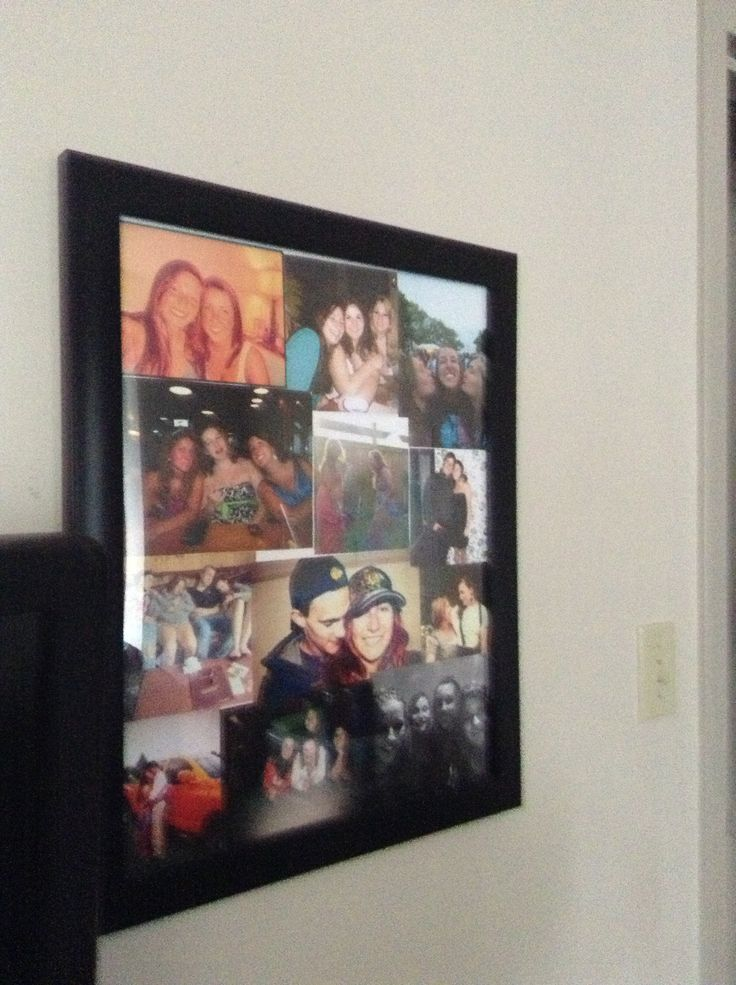 poster board collage student life pinterest