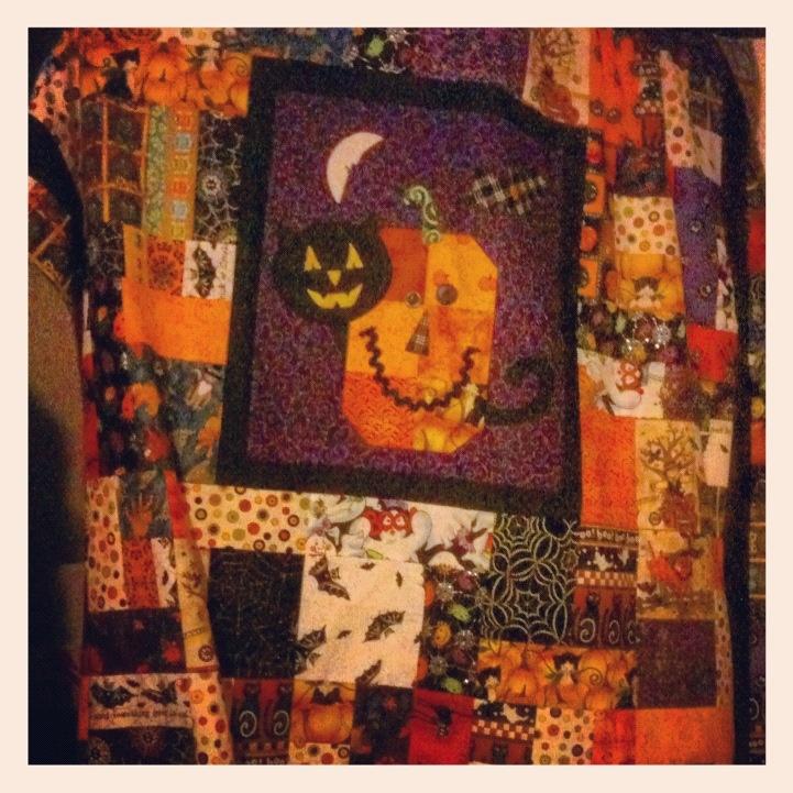 Halloween Quilting Ideas : Halloween quilt Quilting & Sewing Ideas Pinterest