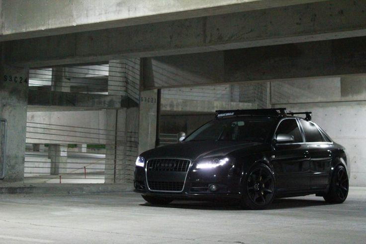 Blacked Out Audi A4 Black Audi A4 Pinterest