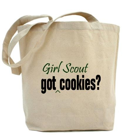 Girl Scout Cookie Tote Bag